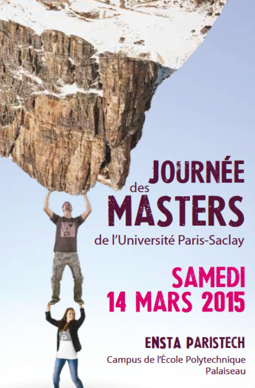 Le m1 math matiques en int raction lamme for Salon des master paris